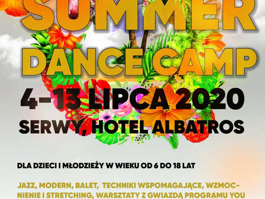 MASTER SUMMER CAMP 2020 - letni obóz taneczny!