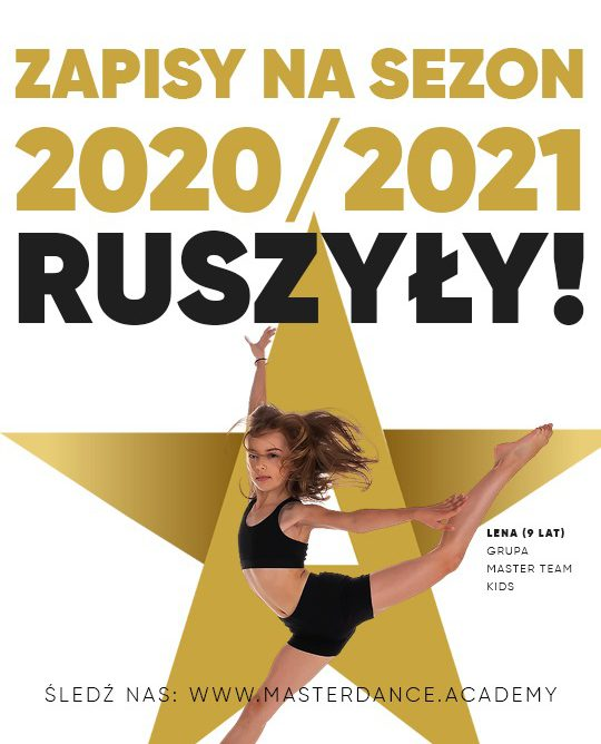 OTWORZYLIŚMY ZAPISY NA SEZON 2020/21!